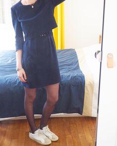 """Camille on Instagram  """"Aujourd hui, j ai ressorti ma toute première robe  ✂️La Parisienne, qui cache un peu de dentelle. Ma préférée, je crois ! 368b607e3a8b"""