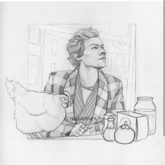 One Direction Fan Art, One Direction Drawings, Desenhos One Direction, Desenho Harry Styles, Harry Styles Drawing, Arte Sketchbook, Harry Styles Imagines, Art Drawings Sketches Simple, Harry Edward Styles