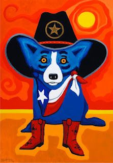 Take Me Back to Texas by George Rodrigue