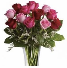 Say it with this stunning heart vase arrangement of premium red and pink roses delivered today Bunch Of Red Roses, Dozen Red Roses, Red And White Roses, Hot Pink Roses, Flowers Today, Flowers Online, Beautiful Bouquet Of Flowers, Amazing Flowers, Fresh Flowers