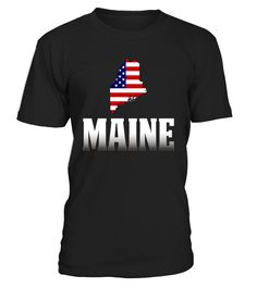 MaineWith America T-shirt is a great way to show your pride of America. Celebrate the National holiday July 4th with this t-shirt. Memorial day and 4th of July T-shirt. America Flag Day T-shirt. American Patriot T-shirt.      TIP: If you buy 2 or more (hint: make a gift for someone or team up) you'll save quite a lot on shipping.     Guaranteed safe and secure checkout via:    Paypal | VISA | MASTERCARD       Click theGREEN BUTTON, select your size and style.       ▼▼ ClickGREEN B...