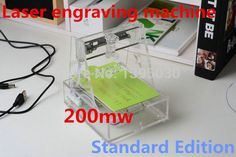 200MW Mini DIY Laser engraving machine micro engraved 7*7CM Automatic carving #Affiliate
