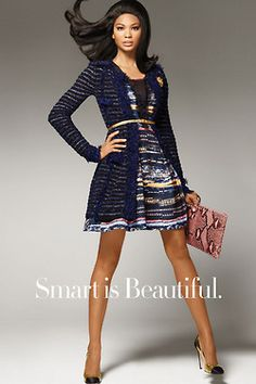 Chanel Iman's McGinn dress for Amazon. / #barbielook
