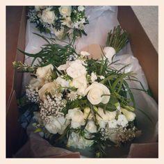 Vintage country wedding flowers