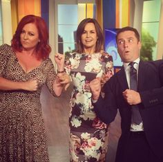 From instagram: @shellyhorton1 Grrrr @lisa_wilkinson had to separate me from @karlstefanovic on @thetodayshow I was fired up about women's right to pink carriages on trains where they can feel safe.