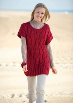 Stylish Jumper Dress FREE PATTERN sign up required but it's free and you only get email's about new mags with a free pattern no subscription required