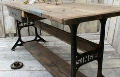 alte möbel restaurieren alte möbel neu gestalten nähmaschine tisch