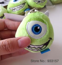 New Original Monsters University Dust-guard Plug Plush Toy for Kid's Gift $16.32