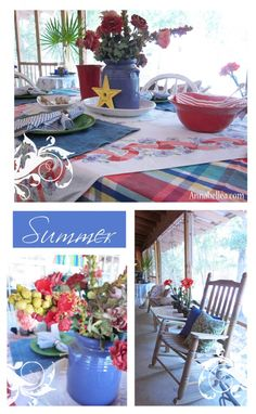(Jenni) Fourth of July Party Inspiration #Summer #Porch