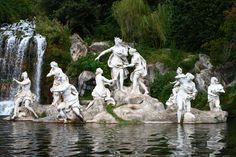 Caserta Palace Diana Sculpture