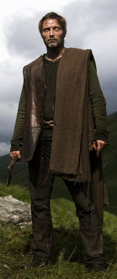 "Mads Mikkelsen as One-Eye, ""Vahalla Rising"""