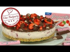 Yogurette-Erdbeer-Torte – EvasBackparty