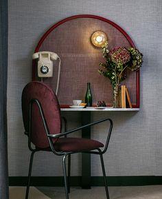 Отель La Planque в Париже по проекту Desjeux Delaye • Интерьеры • Дизайн • Интерьер+Дизайн