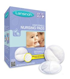 Lansinoh® Disposable Nursing Pads | Lansinoh  Never know when you'll need extra. #mypumpingspace  #breastfeeding #milkmakers