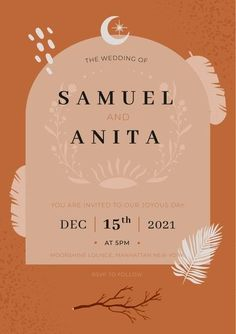 Download this Free Vector about Boho wedding invitation template, and discover more than 15 Million Professional Graphic Resources on Freepik. #freepik #wedding #weddinginspiration #weddinginvitation #weddingcard #invitation #weddinginvitationtemplates #weddinginvitationdesign #weddinginvitationdiy #weddinginvitationvector #weddinginvitationcarddesign Wedding Invitation Card Design, Wedding Invitations, Manhattan New York, You Are Invited, Boho Wedding, Wedding Cards, Rsvp, Vector Free, Web Design