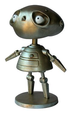 Rustboy Vinyl Figure - Brian Taylor - Sad the movie was never finished
