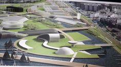 Resultado de imagen para centro culturales Oscar Niemeyer, Cultural Center, Centre, Spain, Outdoor Decor, Google, Sevilla Spain, Spanish