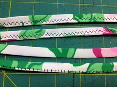 The Sewing and Life Adventures of Emerald Erin: Tutorial: Two Ways to Sew Swimwear Straps