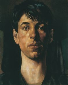 Stanley Spencer self portrait...I was extremely taken with this when I saw it in Newsweek at age 13