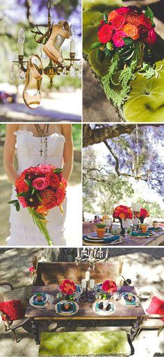 Spanish-Inspired, Ranch Wedding Style Shoot in California   WeddingWire: The Blog