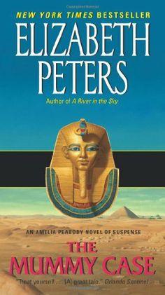 The Mummy Case: An Amelia Peabody Novel of Suspense (Amelia Peabody Mysteries) by Elizabeth Peters, http://www.amazon.com/dp/0061999202/ref=cm_sw_r_pi_dp_WjtTpb1D92V0V