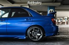 Subaru Impreza WRX Bugeye Neck Breakerz