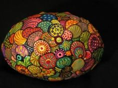 Cokie's Rocks .... hand painted original by consuelo