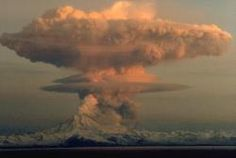 Mt. Redoubt, Cook Inlet AK.....I lived In Kenai AK, during the 09 eruption