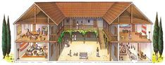 ancient greek house layout the greeks created a lot of