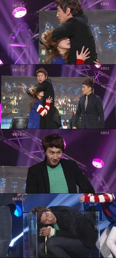 mykpopnote: Gag Concert Ep 680 Guest Lee Kwangsoo and YoonA (English Subs)