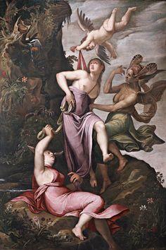 Allegoria della Virtù (1586 circa; Londra, Jean-Luc Baroni Ltd)