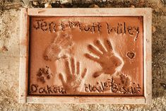 One amazing perk of a wedding at Hartley Farms: a personalized stepping stone, added to the garden's walkways, to commemorate your marriage. | Hartley Farms San Miguel, CA Unique Wedding Favors, Unique Weddings, Real Weddings, Wedding Ideas, Camp Wedding, Wedding Show, Wedding Checklist Printable, Glam Camping, San Miguel