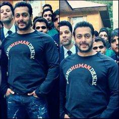 Spotted - Salman Khan with Fans on the Sets Of Bajrangi Bhaijaan ! <3   For More Details Click Here : www.entertainmentbuzz.in