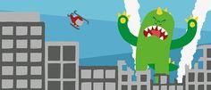 Monster Invasion! on Behance by Víctor Gambero