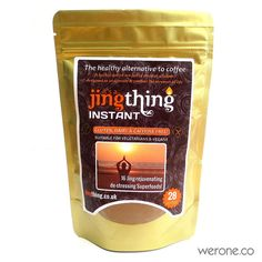 Jing Thing is an organic raw chocolate and herb hot-blended beverage which connects you with your root, the earth. This tonic blend combines a full-serving of Cacao along with the vitality of Chinese and Indian herbs in a tonifying warm drink which supports the kidneys, heart and libido. It is the most rejuvenating drink of the day, only those who have tasted it will know the secret.. it's a Jing Thing!