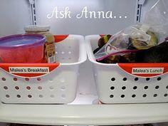Organize the fridge!  #organize