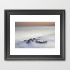 dreaming between the islands II Framed Art Print by Guido Montañés - $42.00