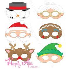 Christmas Printable Masks