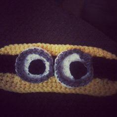 Crochet Patterns Galore - Minion Sleep Mask