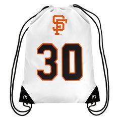 Orlando Cepeda San Francisco Giants Hall of Fame Player Drawstring Backpack