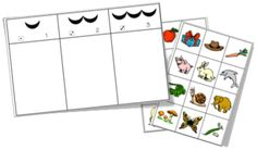 Games - Phonology - Counting syllables - In my toolbox Nigella, File Folder Games, Speech Therapy Activities, Syllable, Homeschool, Projects To Try, Blog, Classroom, Teaching