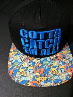 Pokemon Gotta Catch Em All! Baseball cap hat #Bioworld #BaseballCap