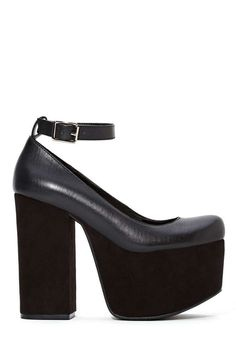 Shoe Cult Upscale Platform | Shop What's New at Nasty Gal.... I would wear these babies everyday!!!!