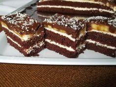Mascarpone s banánom - Mňamky-Recepty. Mascarpone Cake, Romanian Desserts, Food Cakes, Mcdonalds, Tiramisu, Cake Recipes, Cheesecake, Food And Drink, Ice Cream