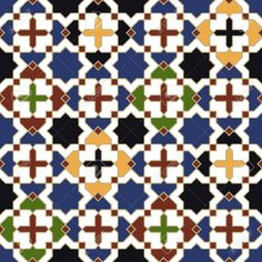 Seamless Moroccan Islamic Tile Pattern Royalty Free Cliparts, Vectors, And Stock Illustration. Image 24249898.