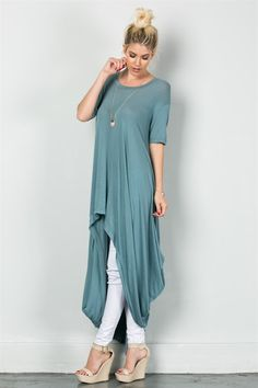 610eb123f87 High low tunic(Tunic Top Stylists)