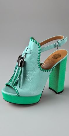 Tassels and mint green..❤ This color