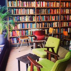 Le Bal Infernal, Ghent, Belgium - Nice café with thousands of used books ☕️📙  #Gent #Belgium #Coffee #Drinks