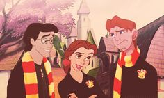 If Harry Potter was made into a Disney movie. http://disneycrossover.tumblr.com/post/33621532817/if-harry-potter-was-made-into-a-disney-movie-x
