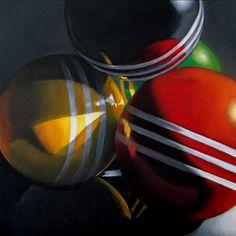M Collier | OIL | Croquet